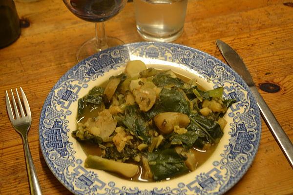 Perennial vegetable stew