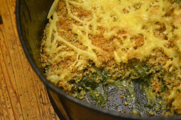 Sea beet gratin