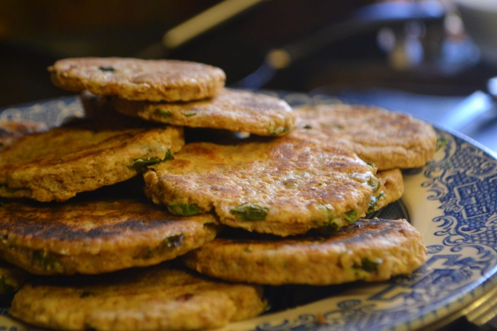 Welsh onion cakes